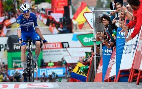 Vuelta a Espana 2019, stage 19 – full results and standings: Remi Cavagna wins as Primoz Roglic edges closer