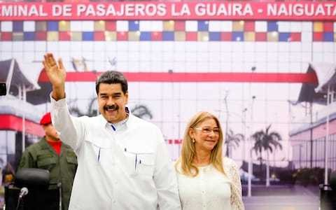 Maduro suggests top officials have been holding 'secret talks' with the US with his direct permission