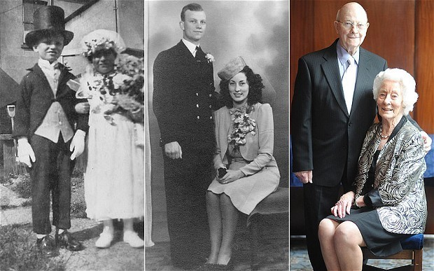 A lifetime of love: from carnival bride and groom to 70 years of marriage