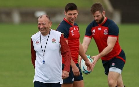 Eddie Jones prepares for proof test of strength of England's World Cup brew