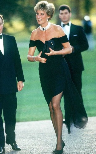 Why Princess Diana's revenge dress is still relevant, 25 years on