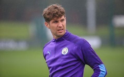 John Stones hoping to prove himself as first-choice Manchester City centre-back