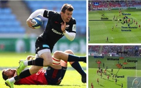 Versatility and variety of Saracens attack sets up European showdown against Leinster
