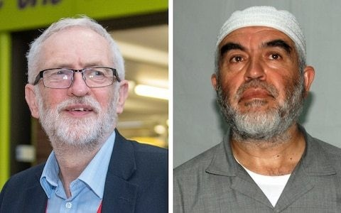 Jeremy Corbyn embraced cleric found by British court to have issued the anti-Semitic blood libel