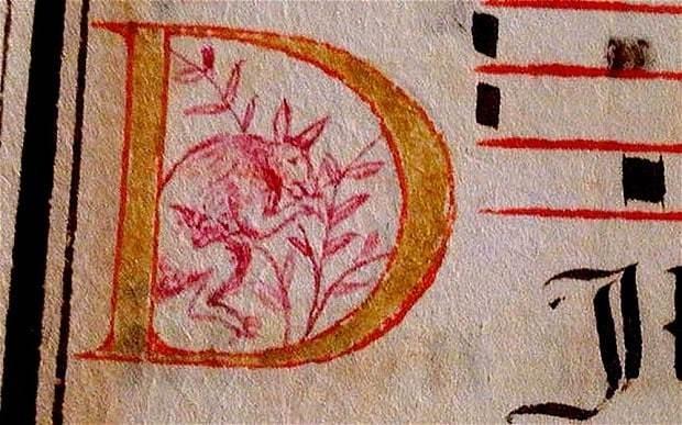 Kangaroo in 400-year-old manuscript could change Australian history