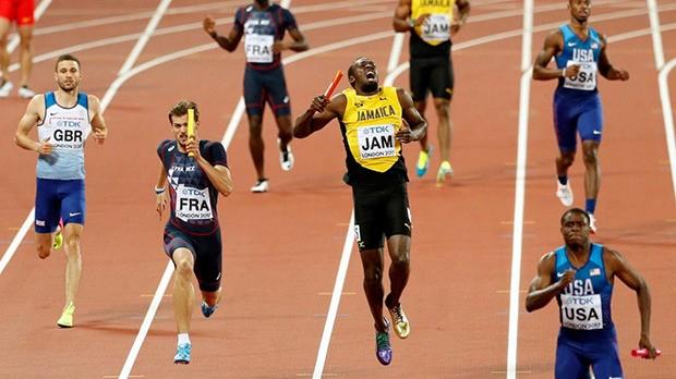 Usain Bolt's furious Jamaica team blame London 2017 organisers for heartbreaking injury