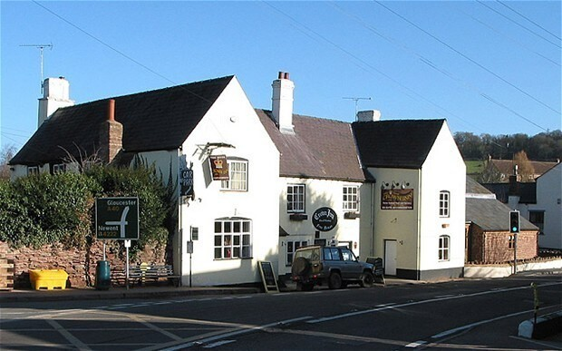 Village pub raided by police in hunt for Holy Grail