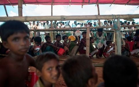 Almost 400,000 Rohingya children in Bangladeshi camps 'have no access to education'