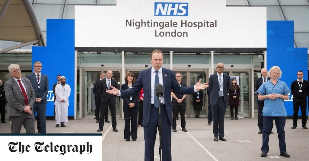 London's Nightingale hospital ill-prepared for a second wave, say health professionals