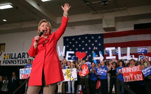 Hillary Clinton considers all-female ticket by choosing woman as vice-president nominee