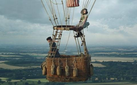 The Aeronauts review: Eddie Redmayne's Victorian balloonist biopic is just so much hot air