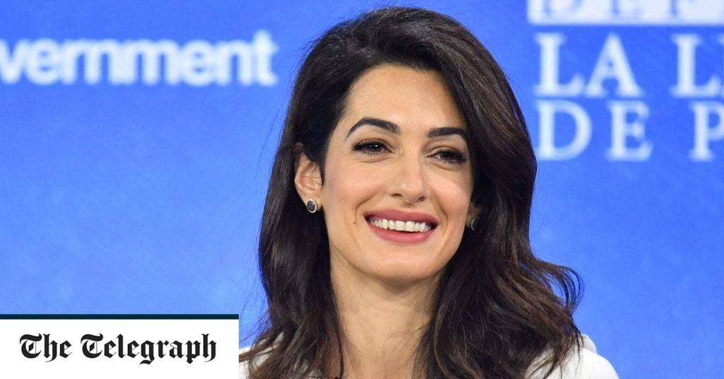 Amal Clooney resigns as Britain's special envoy on media freedom