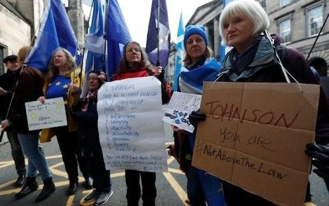 Scottish judges delay a decision on Boris Johnson's Brexit extension tactics