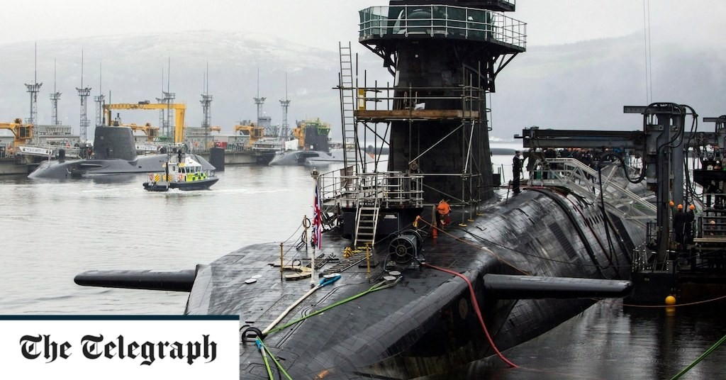 Ministry of Defence mulls takeover of nuclear steel submarine maker