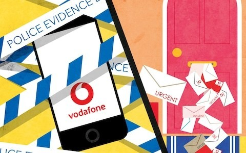 'Police confiscated my phone to convict my rapist, but Vodafone kept charging £57 a month'