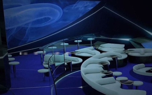 Introducing the world's first underwater lounge on a cruise ship
