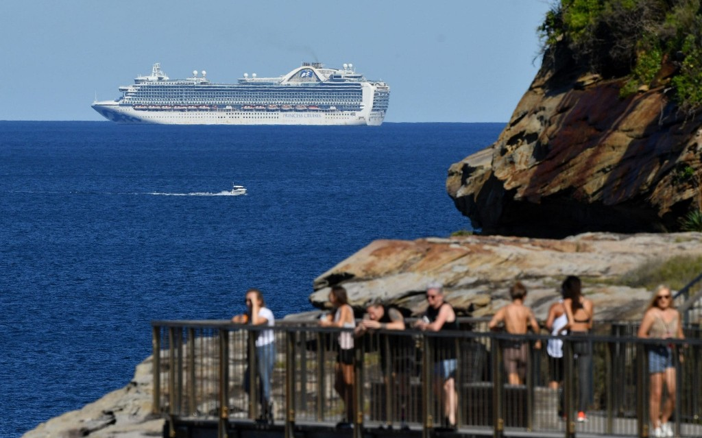 Ruby Princess: Australian police launch criminal investigation into handling of virus-stricken cruise