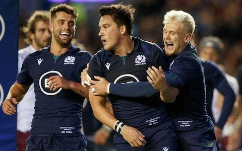 Sam Johnson spells out Scotland's game plan for seeing off Ireland following remarkable rise to World Cup squad
