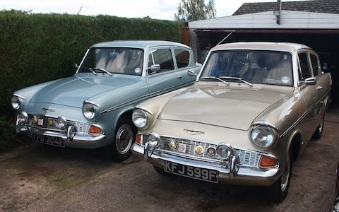 Ford Anglia at 50: meet the man who owns 12 examples of 'the world's most exciting light car'