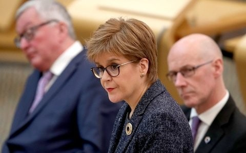 Nicola Sturgeon praises 'excellent' Lord Provost who spent £8,000 of public money on clothes and shoes
