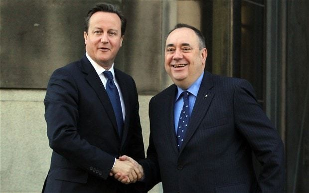 David Cameron defends 'comatose' Alistair Darling's leadership of campaign against Scottish independence