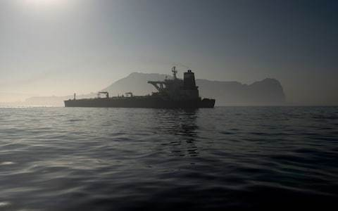 Iranian tanker due to be set free from Gibraltar on Sunday night