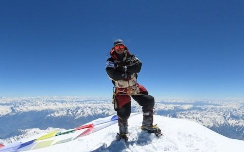 Former Gurkha smashes record for scaling world's tallest peaks - and rescues three climbers on the way