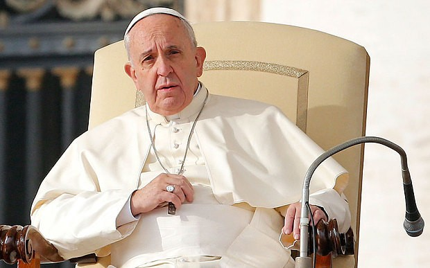 Pope: I would be willing to talk to Islamic State