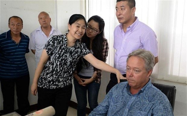 US boss released by angry Chinese factory workers