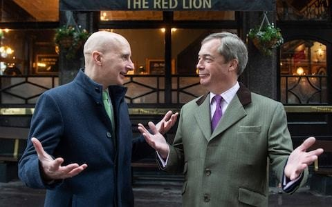 Dear Leavers, Lord Adonis doesn't want your support, but my Brexit Party certainly does