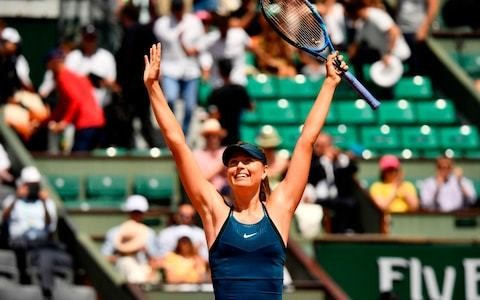Tennis Podcast: French Open day seven - Maria Sharapova in awesome form, but can she beat Serena Williams next?