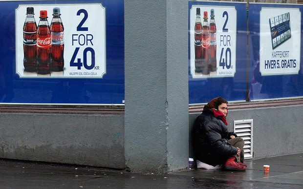 Norway proposes to criminalise beggars and those who give money, shelter or food