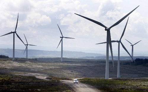 Wind farm giant to offer free electric car charging for locals