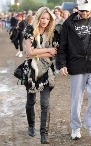 Ahead of Glastonbury next week, look back at the most stylish festival looks of all time