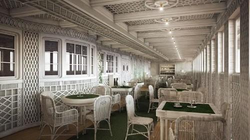 Titanic II interiors unveiled ahead of maiden voyage in 2018
