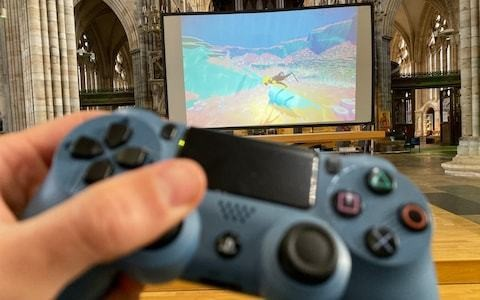 Exeter Cathedral to host 'spiritual' underwater video game service inspired by Jonah and the Whale
