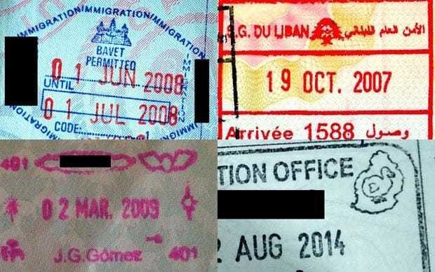 Quiz: Which passport stamps can you identify?