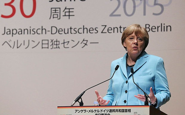 Japan must face up to its shameful Second World War past like Germany did, says Angela Merkel