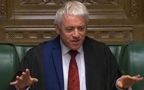 John Bercow has placed more shackles on Boris Johnson than even Houdini had to endure