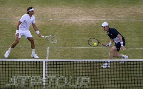 Why Andy Murray is well equipped for doubles success