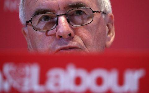 John McDonnell backs abolition of Eton