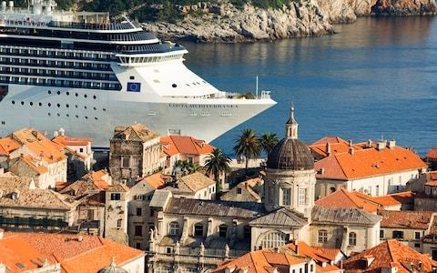 Cruise ship routes to Dubrovnik come under scrutiny