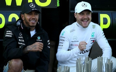 Lewis Hamilton and Valtteri Bottas are getting along well for now - but the Finn's continued success could shatter their relationship