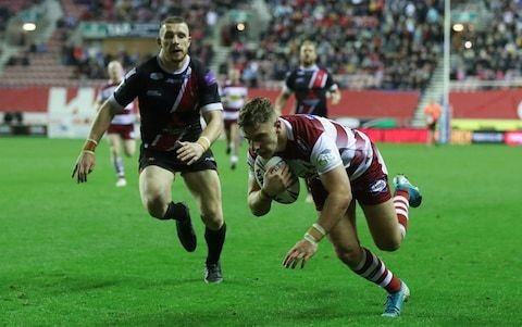 Wigan hold off tenacious Salford to book trip to St Helens