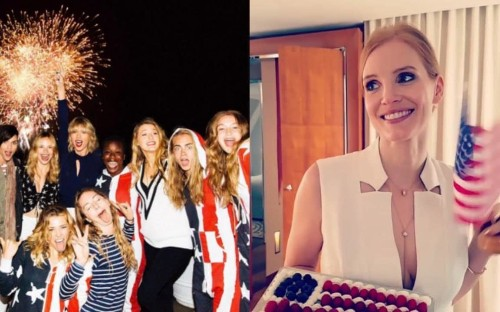 How celebrities enjoyed the Fourth of July in style – from Taylor Swift to Rihanna