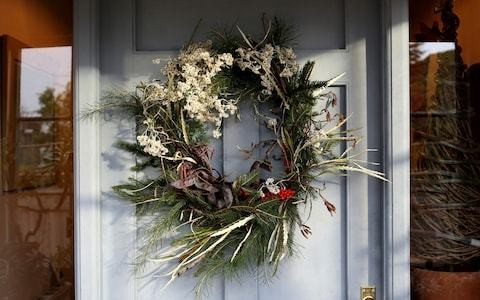 £2,000 for a Christmas wreath? Don't laugh, these door decorations are the status symbols of the season