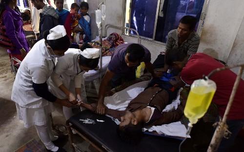 Toxic alcohol kills 93 and hospitalises hundreds in India