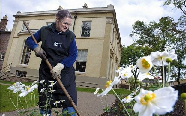 Cranford author Mrs Gaskell's house and garden restored