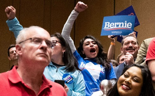 Union workers shows their hand in Las Vegas caucuses: 'Bernie Sanders has been on pickets for 40 years'