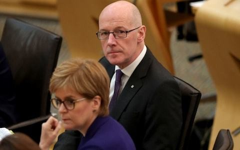 John Swinney finally scraps SNP's 'state guardian' scheme but refuses to apologise to parents and teachers